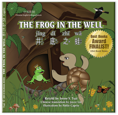 The cover of The Frog in the Well